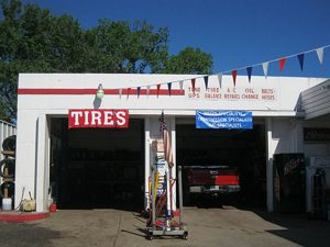 Two Bay Shop and Garage